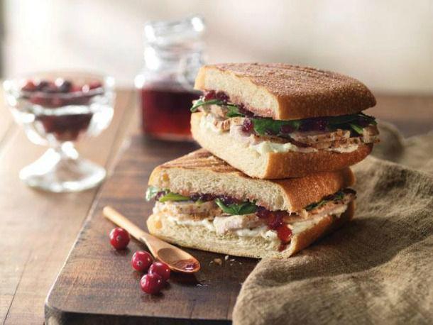 Panera's Roasted Turkey and Cranberry Panini