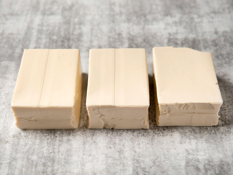 group of silken tofu