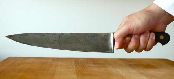 How To Hold A Knife Knife Skills