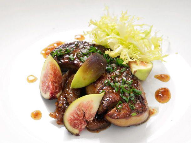 Seared Foie Gras with Fig Mostarda