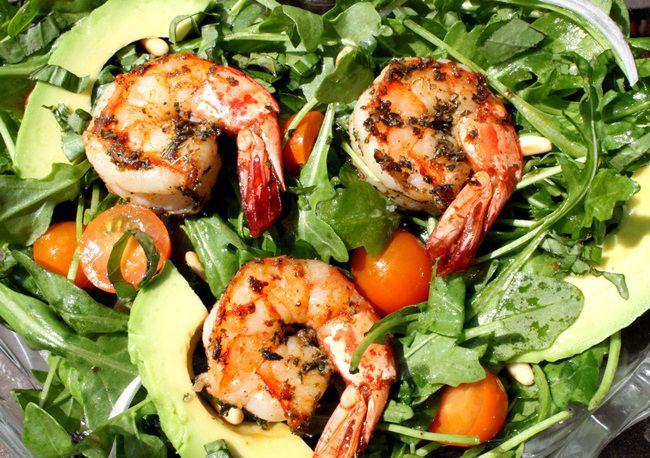 2012-05-21-219518-skillet-suppers-shrimp-arugula.JPG