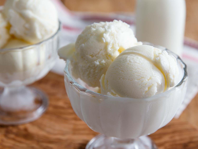 scoops of fior di latte