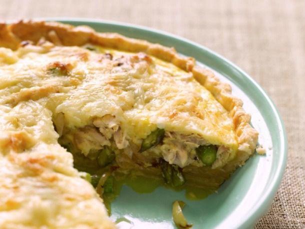 chicken and vegetable quiche