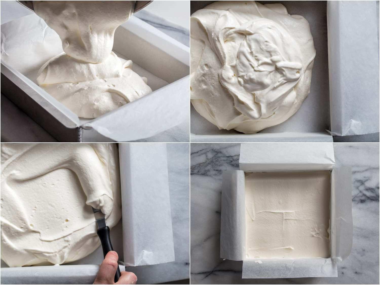 creating an ice cream brick