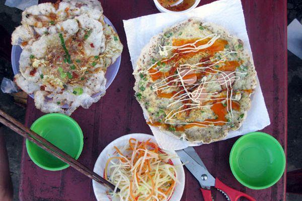 Banh Ep and Banh Trang Trung