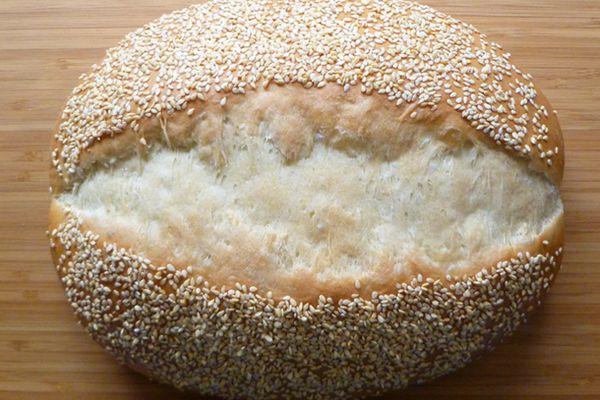 20110419-bread-baking-sesame-loaf.JPG