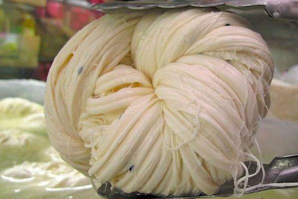 Braided Armenian String Cheese