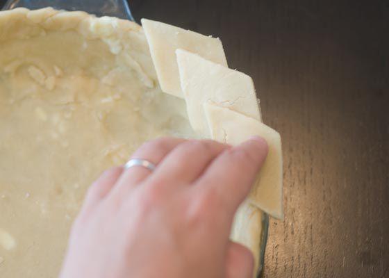 Cutout crusts: