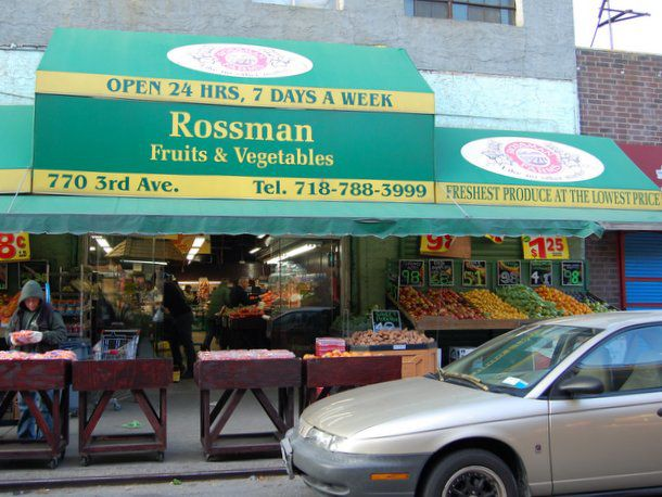 Rossman Farms fruit and vegetable market