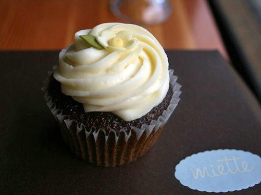 Gingerbread Cupcake at Miette