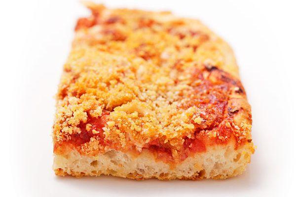 Sfincione (Sicilian New Years Pizza)