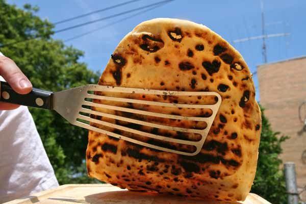 charred pizza crust