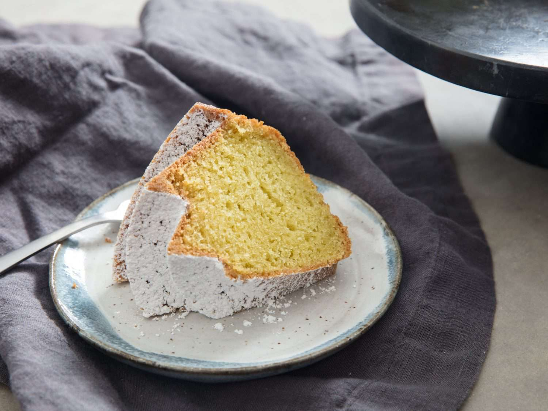 slice of Jubilee bundt cake
