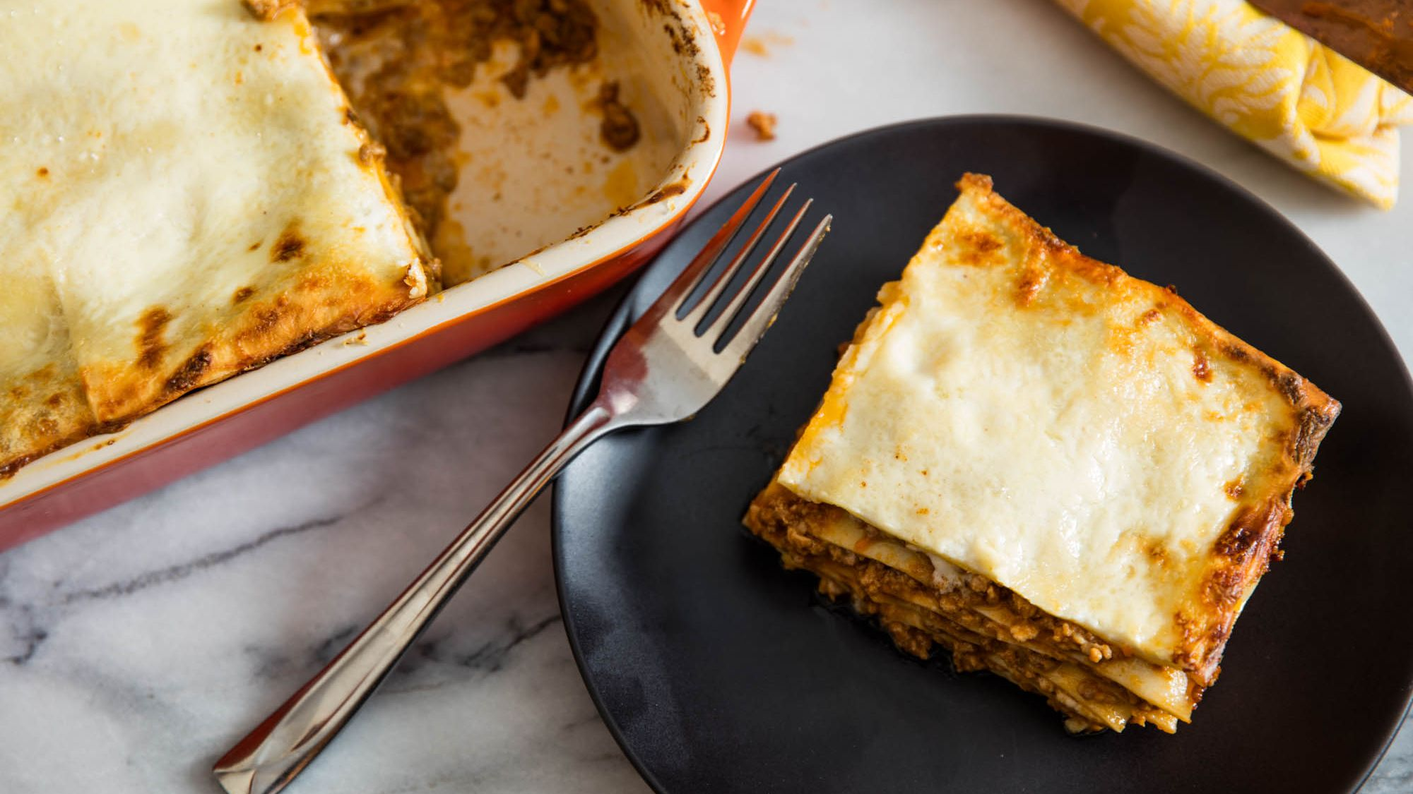 Classic Baked Lasagna Bolognese Lasagne alla Bolognese Recipe