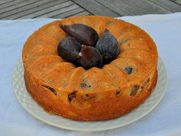 Fig Yogurt Bundt Cake
