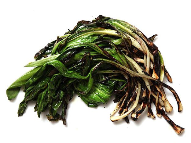Grilled ramps.