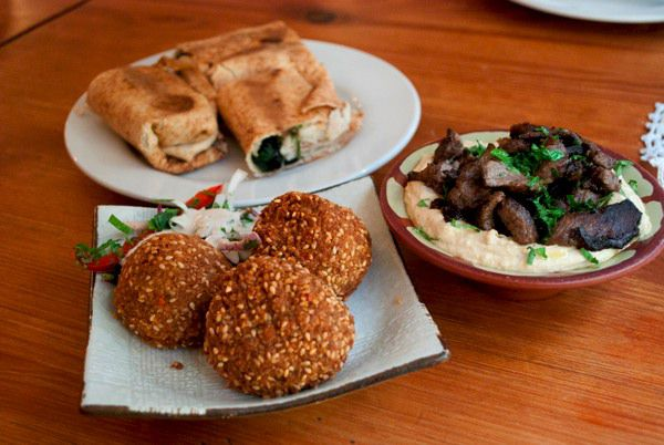 For a Quiet, Cheap, Lunch: Yalla Yalla