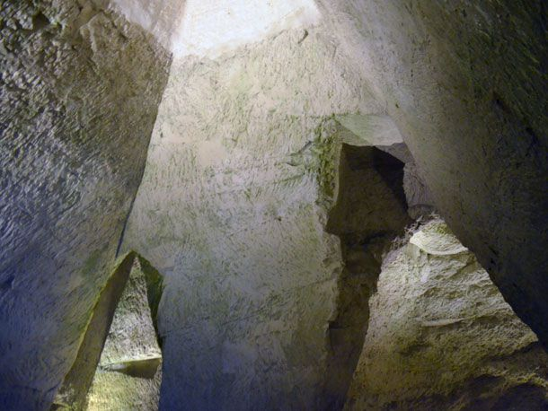 Les Crayères, Roman Chalk Quarries