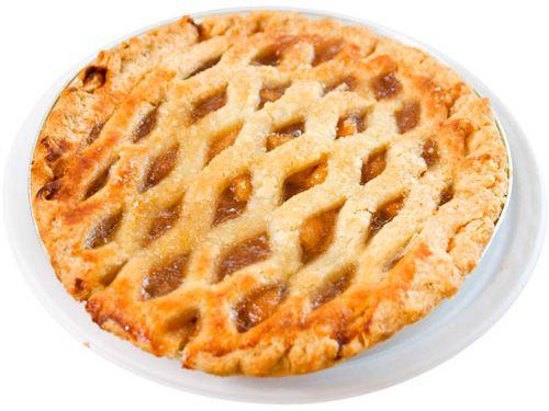 Frozen Apple Pie (Lattice Topping): Marie Callenders