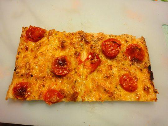 Mozzarella and Cherry Tomatoes on Campo de' Fiori's Bianca