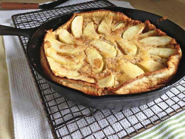 Gluten-Free Dutch Apple Pancake