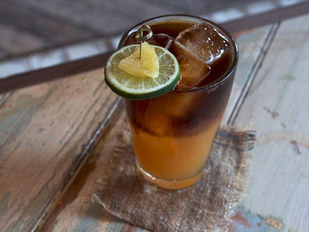 Bermuda Black rum cocktail