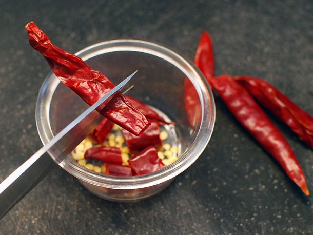 hot dried chiles