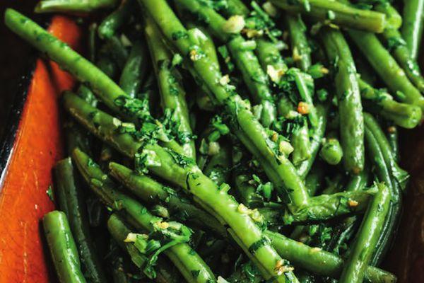 Green Beans with Snail Butter