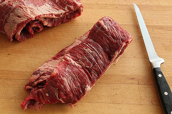 Unfold your steaks