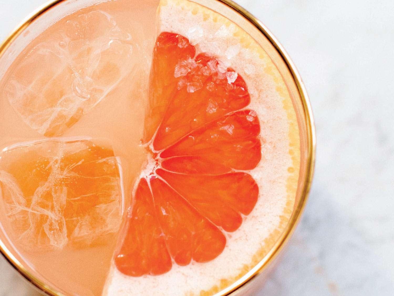 Passport to Chile (Grapefruit Pisco Cocktail)
