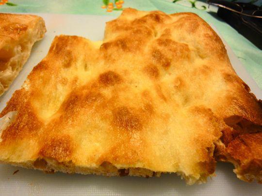 PIzza Bianca from Antico Forno Marco Roscioli