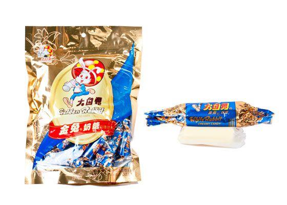 Golden Rabbit Creamy Candy (White Rabbit)