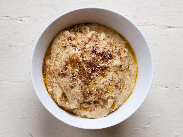 Vegetarian Roasted Zucchini-Chickpea Dip with Za'atar