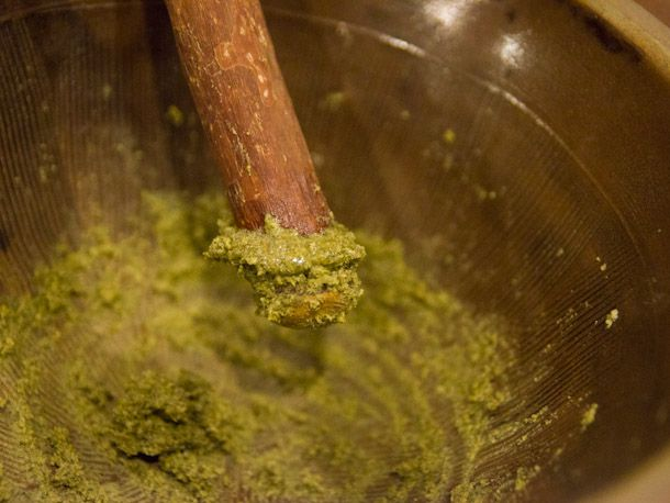 oily paste