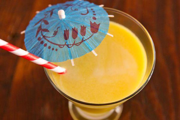 Tangy Kumquat-Pear Juice