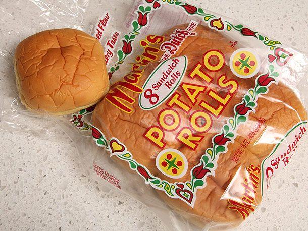 potato rolls hamburger buns