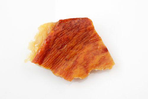 Crisp pork skin cooked at 375 degrees.