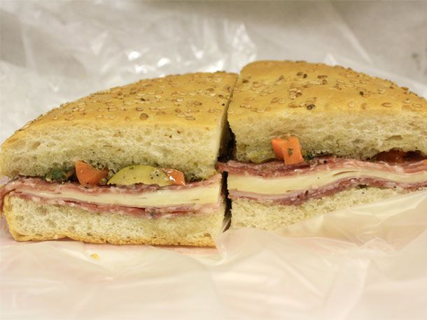 Muffulettas from Central Grocery (Classic) or Cochon Butcher (Cheffy)
